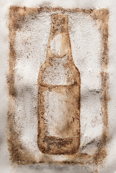 Coffee Ground/Salt Paintings on Adweek Talent Gallery
