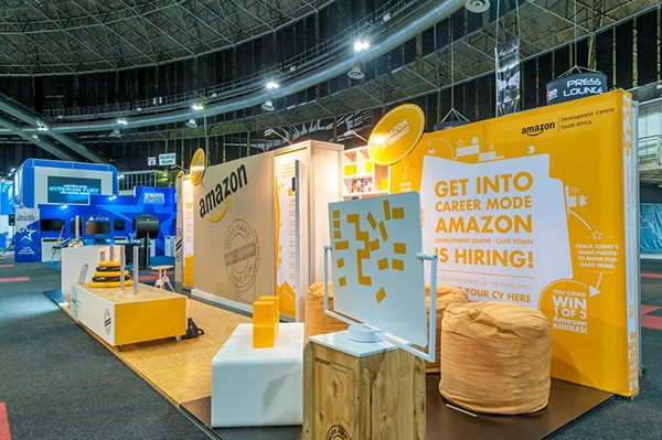 Exhibition Stand Hire Cape Town : Amazon rage expo on behance