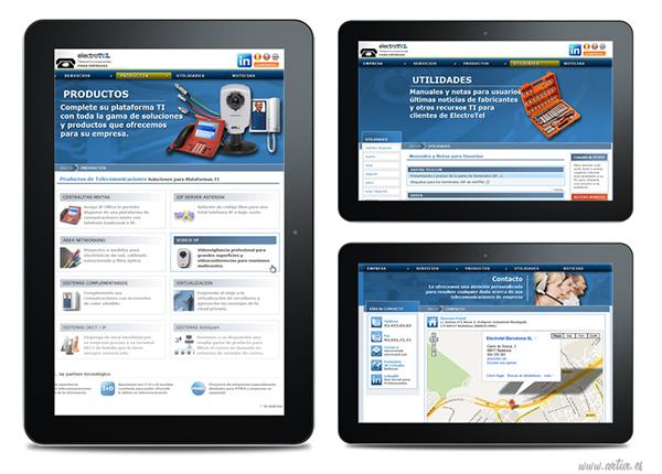 electrotel Diseño web desarrollo web Blog Socialmedia b2b