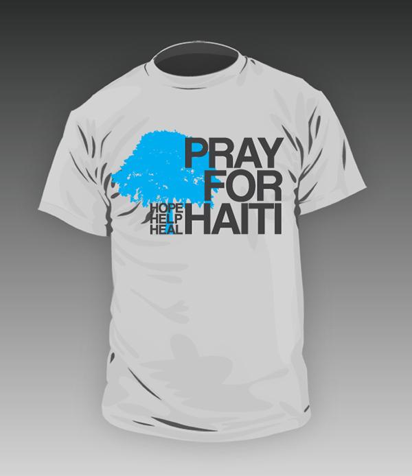 Haiti Fundraiser T Shirt On Behance