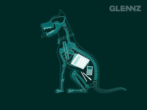Glennz Threadless shirt tee Glenn Jones Darkside of the garden What Would MacGyver Do? swiss army Biblical Disaster Calling Home geek funny Illustrator