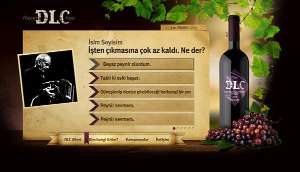 Doluca şarap wine DLC