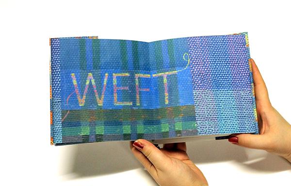 book pattern weaving