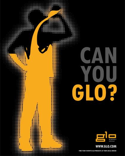 Glo Energy Drink on Behance