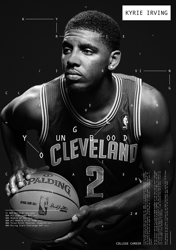 nba posters on behance
