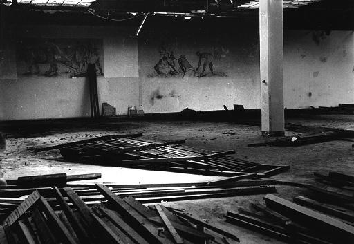 S/W black and white analog baryt history Jutespinnerei jute geschichte braunschweig availablelight licht