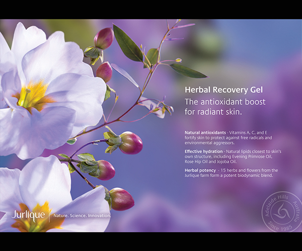 Jurlique herbal floral skincare beauty natural product