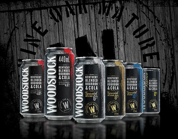 Woodstock Bourbon Packaging On Behance