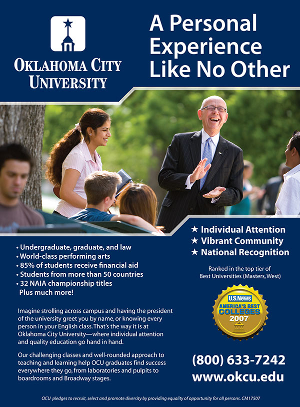 Oklahoma city university job openings