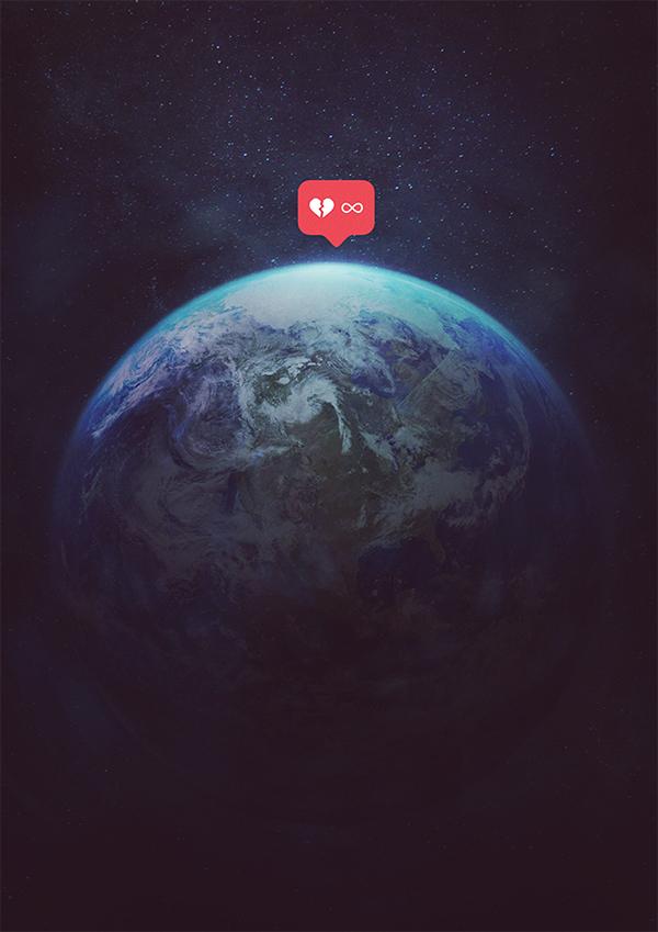 有獨特感的12張愛護地球海報欣賞