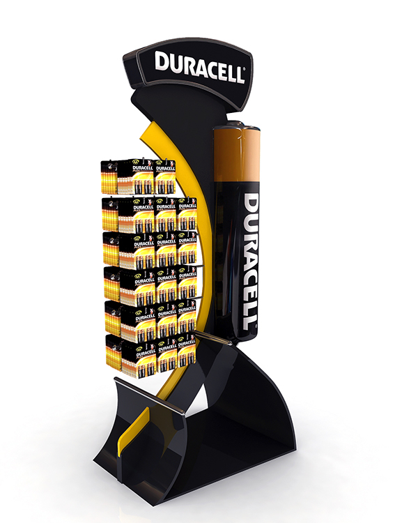 Exhibition Stand Modules : Duracell display stand cm on behance