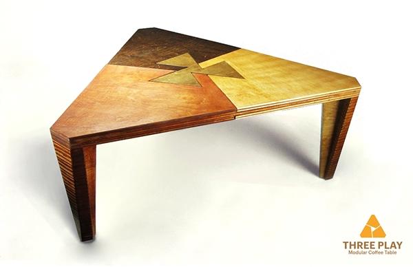 Modular coffee table three play on risd portfolios for Modular coffee table