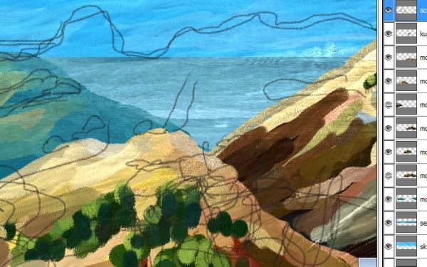 paint,oil,motion,clip,indie,art,landscapes
