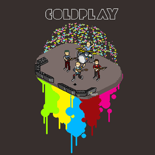 colorful thats coldplay on behance