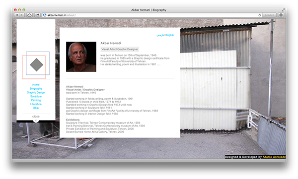 artist  website  Painter html5