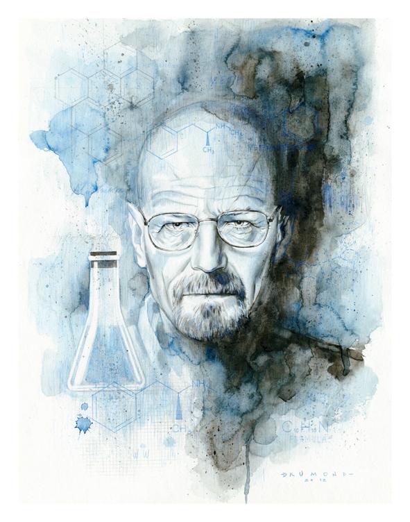 Illustration - Breaking Bad - Heisenberg on Behance
