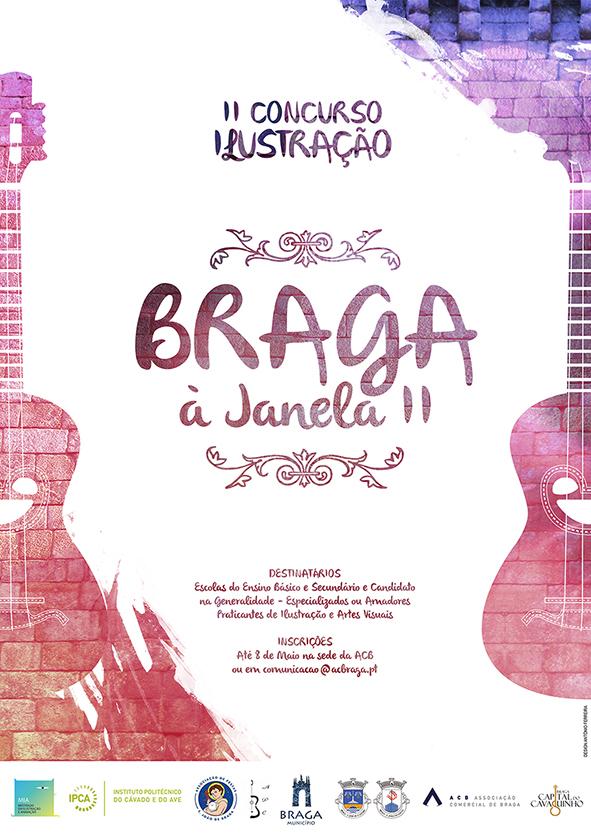 Braga janela bragaajanela2015 antonio ferreira Concurso Ilustração