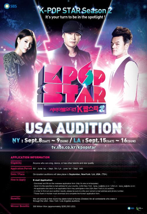 2012 SBS K-POP STAR on Behance
