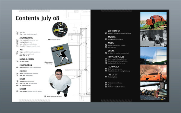 Modern Design Magazine modern design magazine 13 on behance