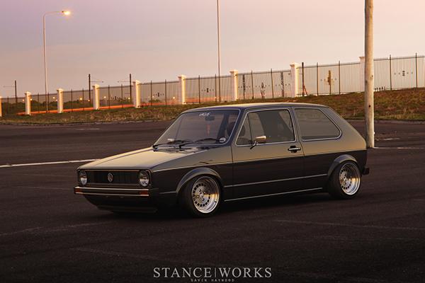 3d Volkswagen Mk1 Golf Stanceworks On Behance