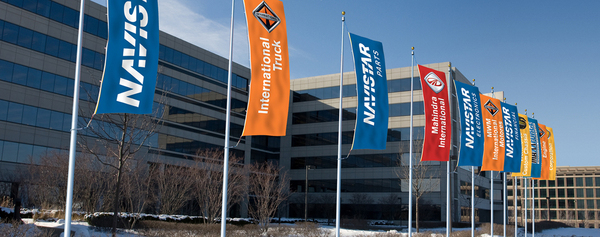 Navistar HQ Signage on Behance