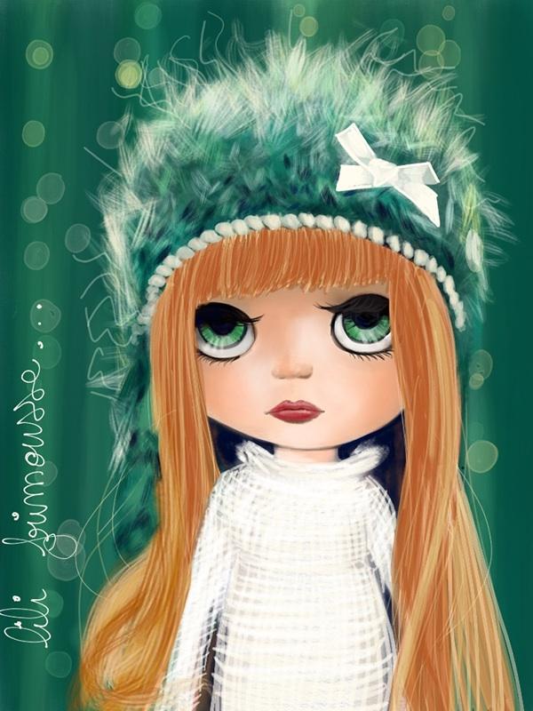 pullip ILLUSTRATION  doll