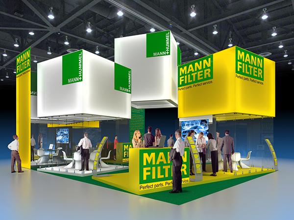 Exhibition Stand Parts : Exhibition stand mann hummel on behance