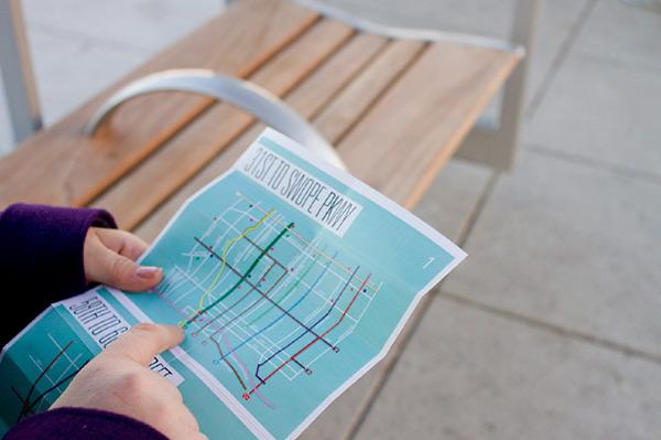 Collaboration kansas city Troost Street bus transportation map help location KCAI