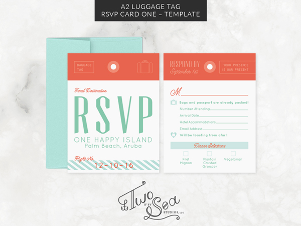 Travel Passport Themed Wedding Stationery Templates on Behance – Sample Luggage Tag Template Example