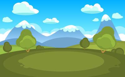 game GUI UI cartoon buttons Interface casual vector template