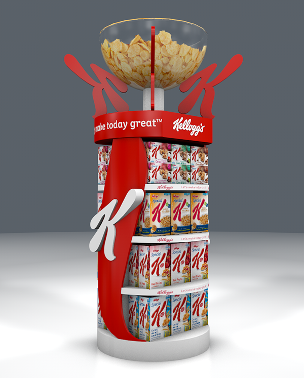 Exhibition Stand Graphic : Kellogg s special k stand on behance