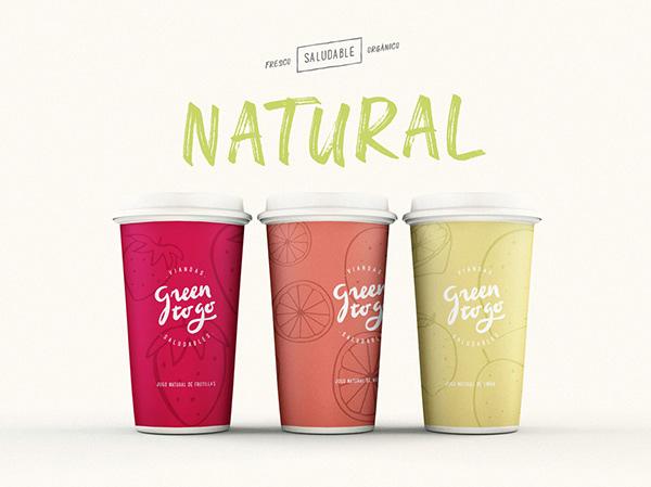 Green To Go • Branding