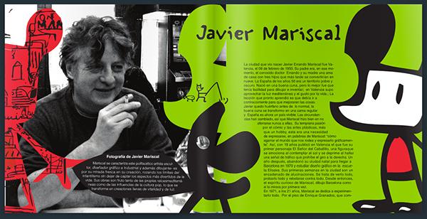 Vida y obra de javier mariscal on behance for Javier mariscal design