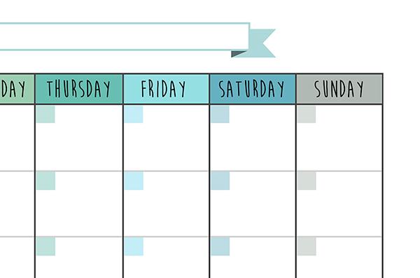 calendar planner task printable organizer organize moonthly planner schedule print free download free pdf template