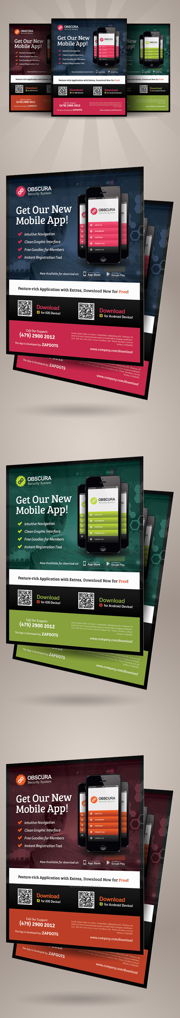 alternative mobile app flyer template on behance alternative mobile app flyer is a design template created for on graphic river more info of the templates and how to get the template sourcefiles can