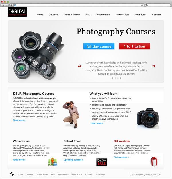 DSLR Photography Courses on Behance