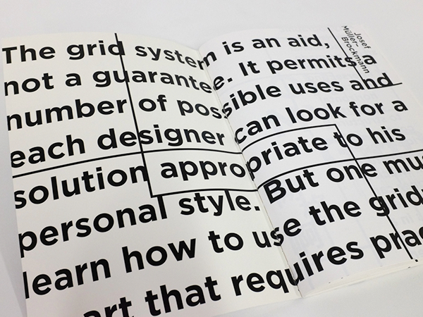 Oh My Grid: Typography II Process Book on Behance
