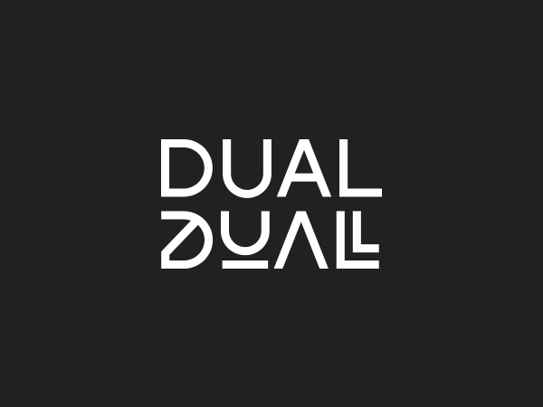 DUAL typeface Free Font Download