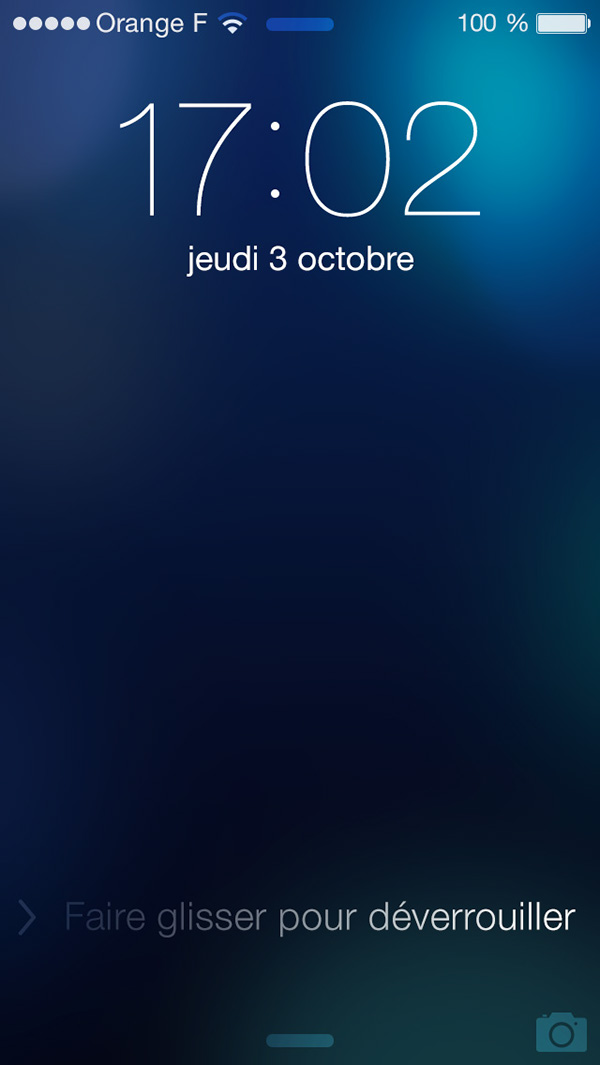 Ios 7 lockscreen template on behance by the way the great wallpaper used was made by nik dribbble maxwellsz
