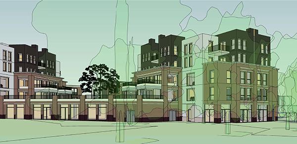 Wageningen Thorckdael Urban Design landscaping
