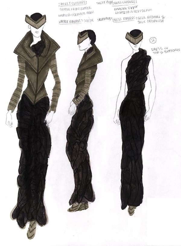 Conceptual to Actual - The Fashion Design Process on Pratt ...