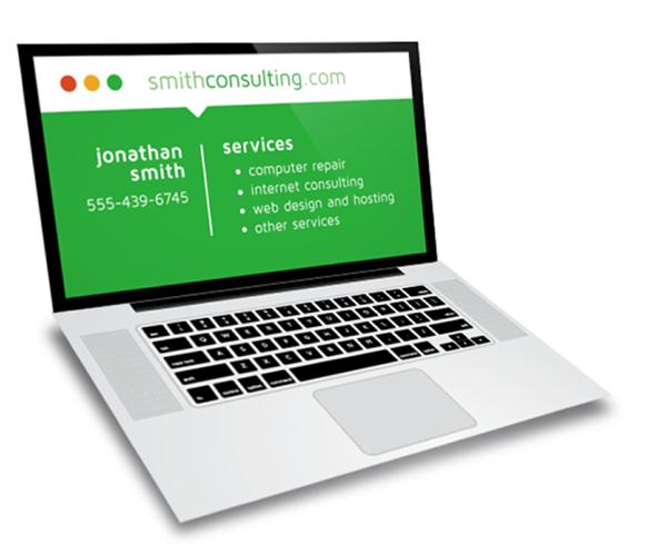 Laptop Computer Repair Business Card Design on Behance