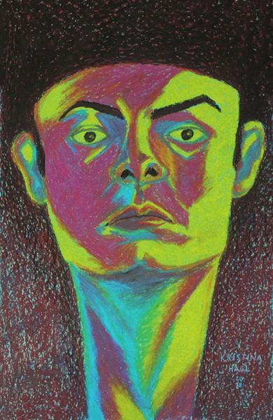 portrait porträtmalerei portrait illustration dark illustration