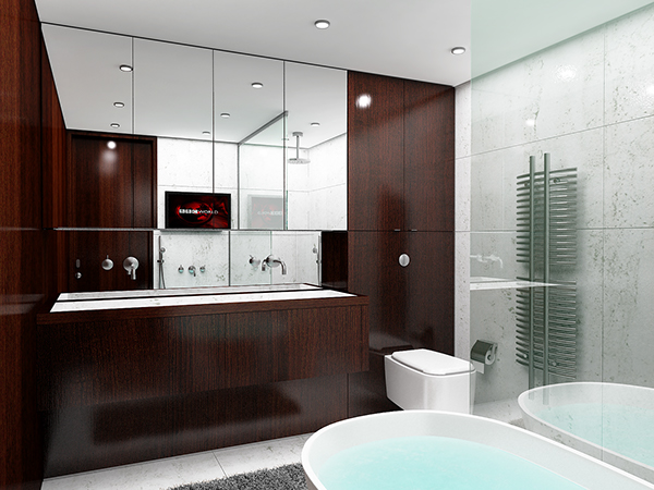High End Bathrooms Design Type E 2014 On Behance