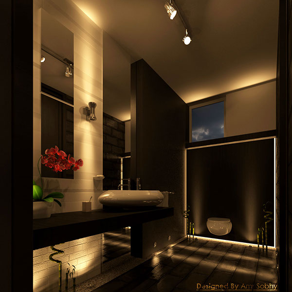 Bedroom In Contemporary Style On Behance: Contemporary Arabian Master Bedroom On Behance