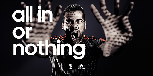 Organo legación Arte  adidas all in or nothing campaign - 55% remise - www.muminlerotomotiv.com.tr