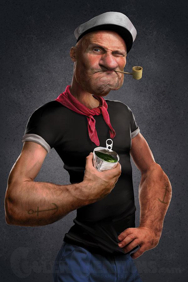 Смешные картинки моряк папай