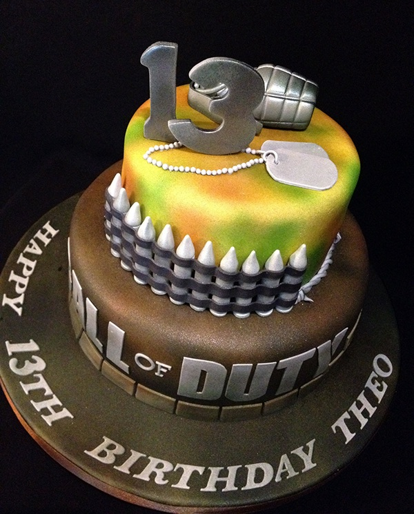 Call Of Duty Cake Cod On Behance