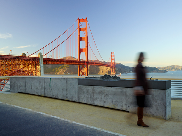 Golden Gate Bridge Plaza On The National Design Awards Gallery