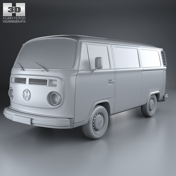 Volkswagen Transporter (T2) on Behance